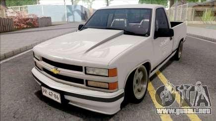 Chevrolet Silverado 1500 White para GTA San Andreas