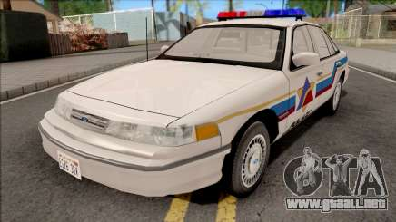 Ford Crown Victoria 1995 Hometown Police para GTA San Andreas