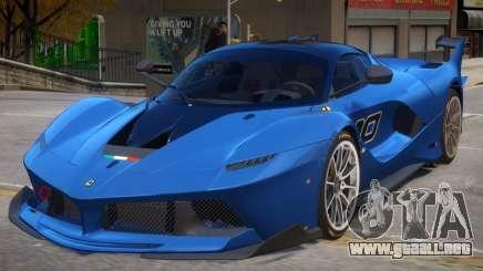 2015 Ferrari FXX-K V1 para GTA 4