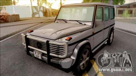 Mercedes-Benz G500 Grey para GTA San Andreas