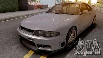 Nissan Skyline GT-R R33 V-Spec 1997 para GTA San Andreas
