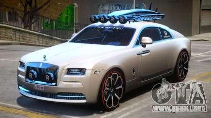 Rolls Royce Wraith 2014 V1 para GTA 4