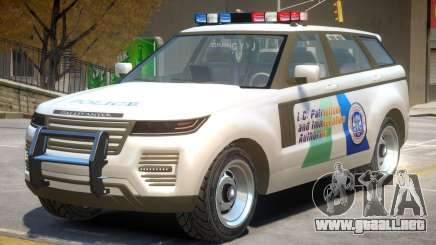 Gallivanter Baller Police para GTA 4
