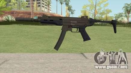 Hawk And Little SMG (Two Upgrades V9) GTA V para GTA San Andreas