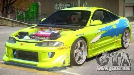 Mitsubishi Eclipse Furious para GTA 4