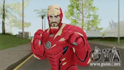 Iron Man No Mask V1 (Marvel Ultimate Alliance 3) para GTA San Andreas