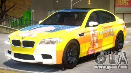 BMW M5 F10 PJ4 para GTA 4