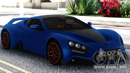 Zenvo ST1 GT 2019 para GTA San Andreas