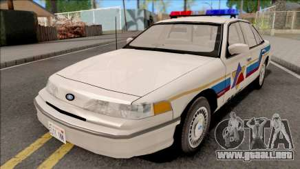 Ford Crown Victoria 1993 Hometown Police para GTA San Andreas