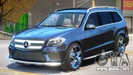Mercedes Benz GL63 V2 para GTA 4