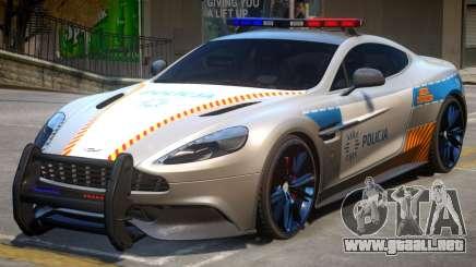 AM Vanquish Police para GTA 4