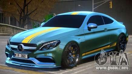 2017 Mercedes Benz C63 S AMG Coupe V1 para GTA 4