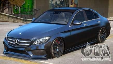 Mercedes Benz C250 V2 para GTA 4