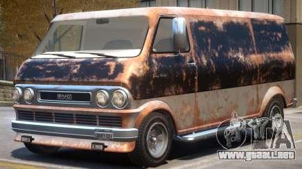 Bravado Youga Rusty para GTA 4