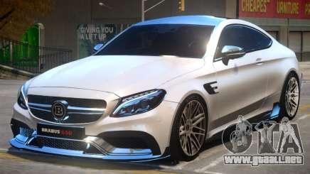 Mercedes Benz C63 Brabus V2 para GTA 4