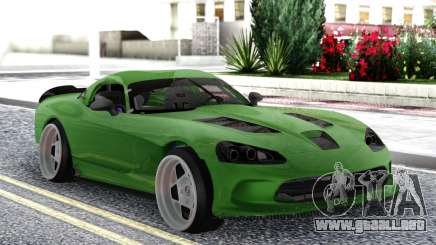 Dodge Viper SRT10 Formula Drift para GTA San Andreas