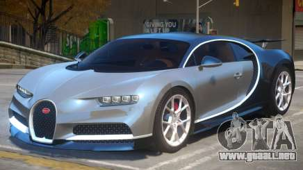 2017 Bugatti Chiron v1.3 para GTA 4