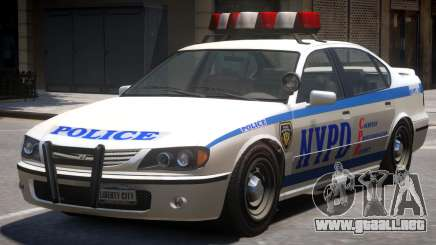 NYPD Police Liveries para GTA 4