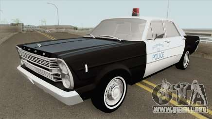 Ford Galaxie 1966 Police para GTA San Andreas