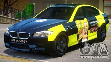 BMW M5 F10 PJ3 para GTA 4