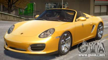 Porsche Boxster Spyder NW para GTA 4