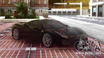Ferrari 488 Pista 2019 Black para GTA San Andreas