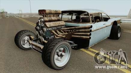 Declasse Tornado Rat-Rod GTA V para GTA San Andreas