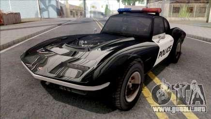 Invetero Coquette Classic Police para GTA San Andreas