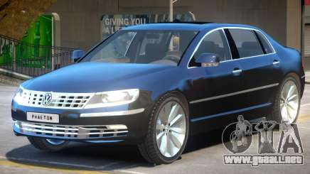 Volkswagen Phaeton para GTA 4
