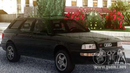Audi RS2 Avant Black para GTA San Andreas