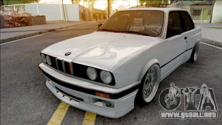 BMW 320i E30 Widebody para GTA San Andreas