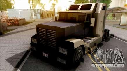 Roadtrain Estilo Rutas Mortales para GTA San Andreas