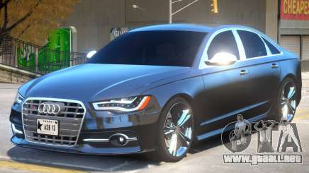 Audi S6 V2 para GTA 4