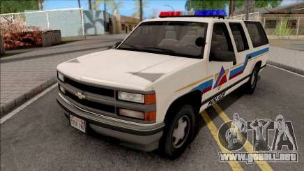 Chevrolet Suburban 1992 Hometown Police para GTA San Andreas