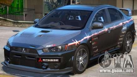 Mitsubishi Lancer Evo X PJ1 para GTA 4