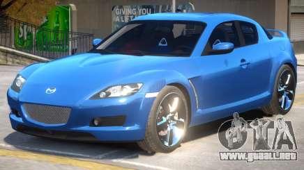 Mazda RX-8 Improved para GTA 4
