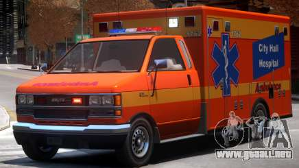 Ambulance City Hall Hospital para GTA 4