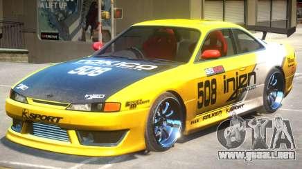 Nissan Silvia PJ4 para GTA 4
