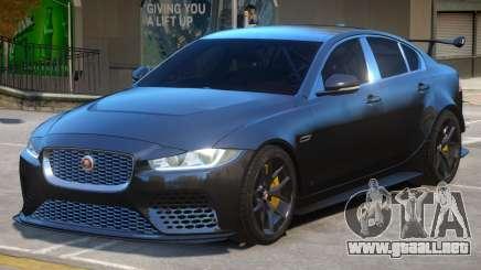 Jaguar XE SV Project 8 para GTA 4