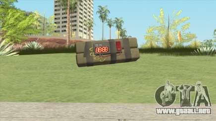 Sticky Bomb From GTA V para GTA San Andreas