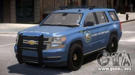 Chevrolet Tahoe Military Police para GTA 4
