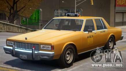 Chevrolet Caprice Taxicar para GTA 4