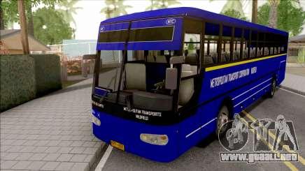 Metropolitan Trans Wilofield Blue Bus para GTA San Andreas