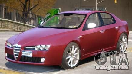 Alfa Romeo 159 TI V2 para GTA 4