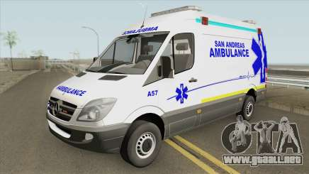 Mercedes-Benz Sprinter (San Andreas Ambulance) para GTA San Andreas