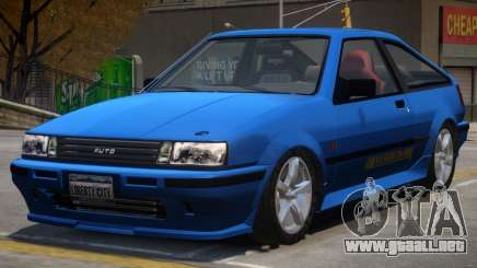 Futo Hatchback V2 para GTA 4