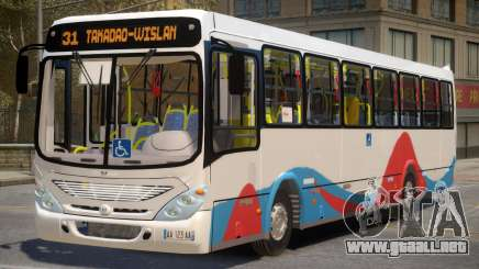 Morocan Meknes Bus para GTA 4
