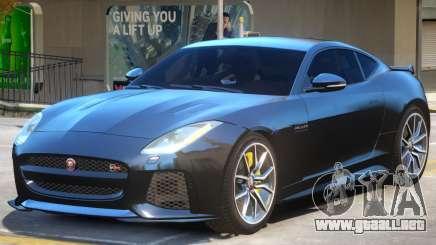 Jaguar F-Type SVR v1.2 para GTA 4