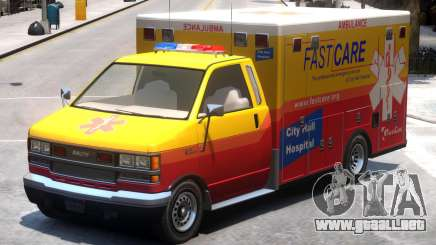 Ambulance City Hall Hospital FastCare para GTA 4
