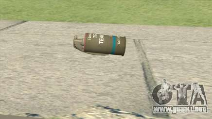 Tear Gas From GTA V para GTA San Andreas